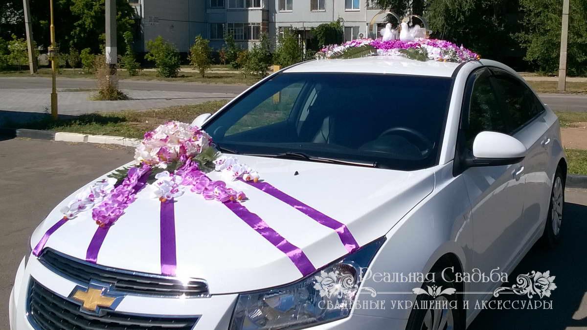 Как украсить свадебную машину недорого
